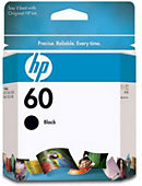 HP Ink Cartridge 60 Black CC640WN#140