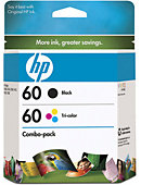 HEWLETT PACKARD INK CART HP 60 COMBO