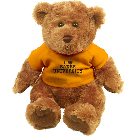 Product: Baker University I Heart' 10'' Bear Plush