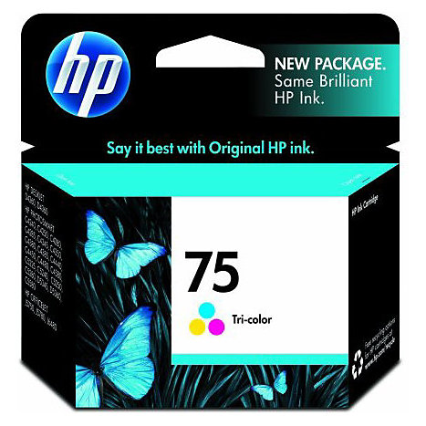Product: HP Ink Cartridge 75 Color CB337WN#140