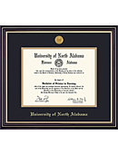 University of North Alabama 8'' x 10'' Prestige Diploma Frame