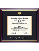 University of North Alabama 8'' x 10'' Windsor Diploma Frame