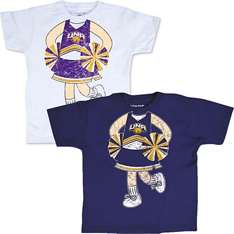 Product: University of North Alabama 'Cheerleader' Toddler T-Shirt