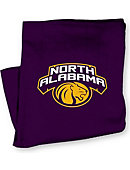 University of North Alabama Lions Blanket
