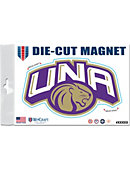 University of North Alabama Lions 4 x 4 Magnet