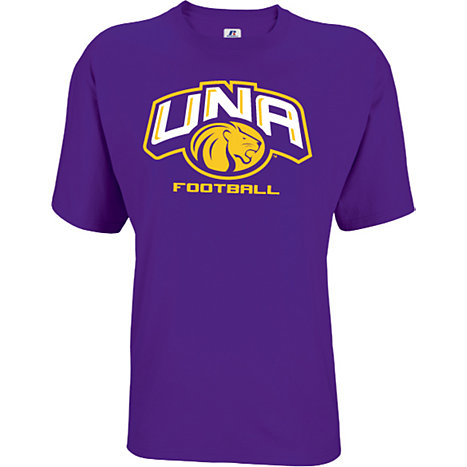 University Of North Alabama Lions Football T Shirt