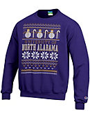 University of North Alabama Ugly Sweater Crewneck Sweatshirt