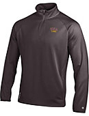 University of North Alabama Double Dry Performance 1/4 Zip Fleece Pullover