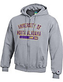 University of North Alabama Lions Full-Zip Hooded Sweatshirt
