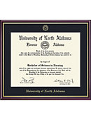 University of North Alabama 8.5'' x 11'' Value Price Scholastic Diploma Frame