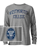 Westminster College Long Sleeve Victory Falls T-Shirt