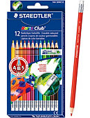 PENCIL 12CT COLOR/ERASABL NORR