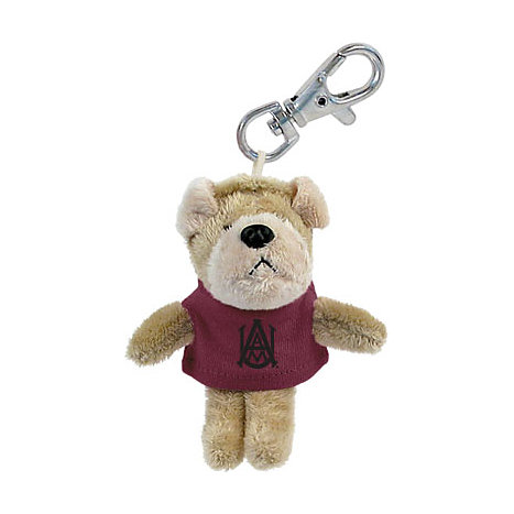 Product: Alabama A&M University Plush Keychain