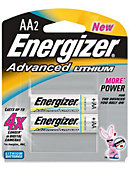 BATTERY/LITHIUM AA 2PACK ENERGIZER