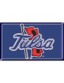 University of Tulsa 2.2''x3.6'' Dome Magnet
