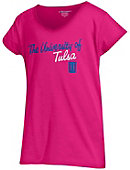 University of Tulsa Girls' V-Neck Short Sleeve T-Shirt