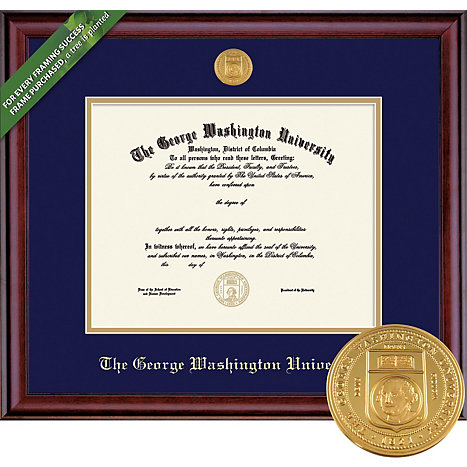 Product: Classic Diploma Frame with Medallion (Law/Medical/PhD)
