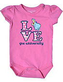 George Washington University Colonials Infant Bodysuit