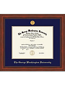 George Washington University Millenium BA/MA Diploma Frame -ONLINE ONLY