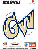 George Washington University Colonials 4' x 4' Magnet