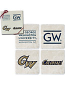 George Washington University Set of Four Stone Coasters