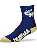 George Washington University Colonials Thick Quarter Socks