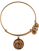 George Washington University Colonials Gold Expandable Wire Bracelet