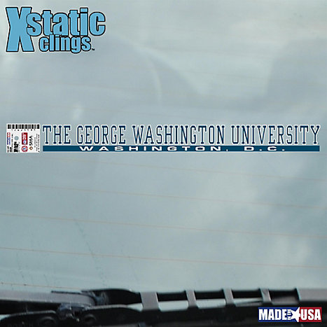 Product: George Washington University Strip Decal