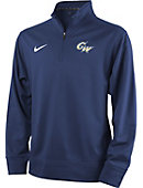 Nike George Washington University Youth Dri-Fit 1/4 Zip Top