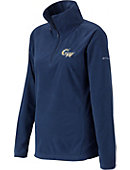 George Washington University Women's 1/4 Zip Glacial Fleece