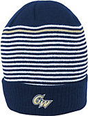 Nike George Washington University Cuffed Stripped Beanie