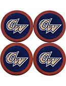 George Washington University Coasters Set of 4