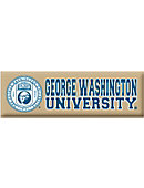 George Washington University Billboard Magnet