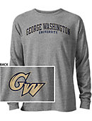 George Washington University Long Sleeve Victory Falls T-Shirt
