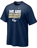 George Washington University 'We Are' Classic T-Shirt - Nike