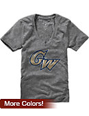 George Washington University Women's V-Neck T-Shirt