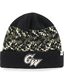 George Washington University Operation Hat Trick Cuffed Beanie