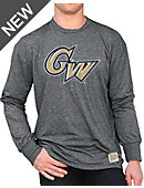George Washington University Long Sleeve Mock Twist T-Shirt