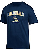 George Washington University Colonials Sailing T-Shirt