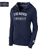 George Washington University Colonials Women's Full Zip Hooded Sweatshirt