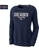 George Washington University Colonials Women's Crewneck Sweatshirt