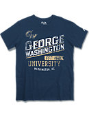 George Washington University Colonials Athletic Fit T-Shirt