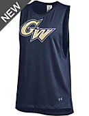 George Washington University Colonials Women's Sleeveless Muscle T-Shirt