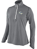 Nike George Washington University Women's 1/4 Zip Dri-Fit Top