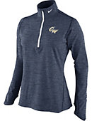 George Washington University Women's 1/4 Zip Top