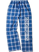 University of Memphis Women's Slim Fit Flannel Pants