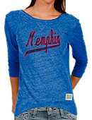 University of Memphis Women's Scoopback Long Sleeve T-Shirt