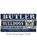 Butler University 11.25 in. x 23 in. Wook Sign