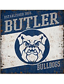 Butler University Vintage Tin Sign