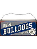 Butler University 12x5.25' Tin Sign
